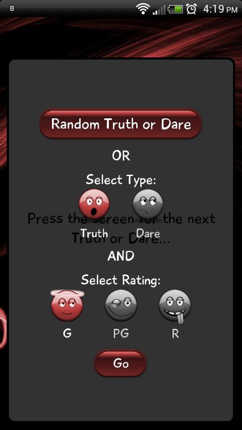 Truth or Dare Affair- screenshot