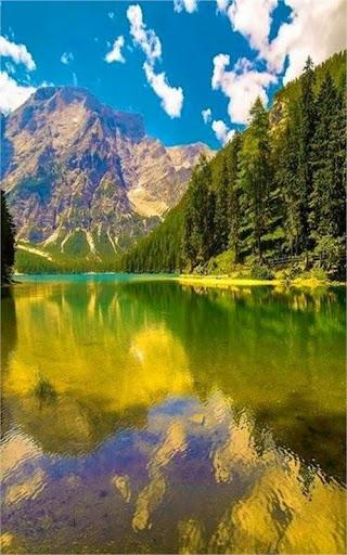ทะเลสาบและแม่น้ำวอลเปเปอร์