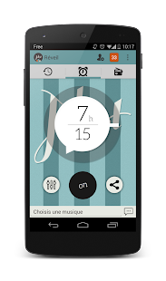 alarm clock - radio alarm- screenshot thumbnail