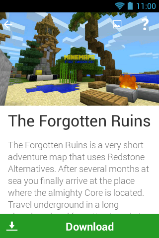 Screenshots of Maps for Minecraft PE MineMaps for iPhone