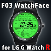 F03 WatchFace for LG G Watch R