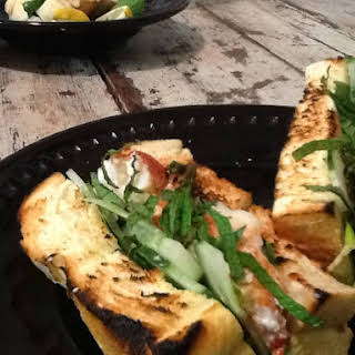 Cool as a Cucumber Lobster with Mint and Tarragon.