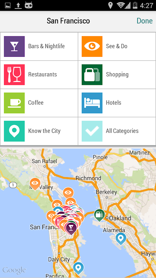 San Francisco City Guide - screenshot