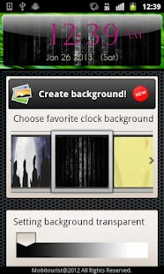 Beautiful Digital Clock - screenshot thumbnail