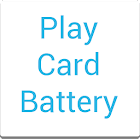 Play Card Battery UCCW Widget icon