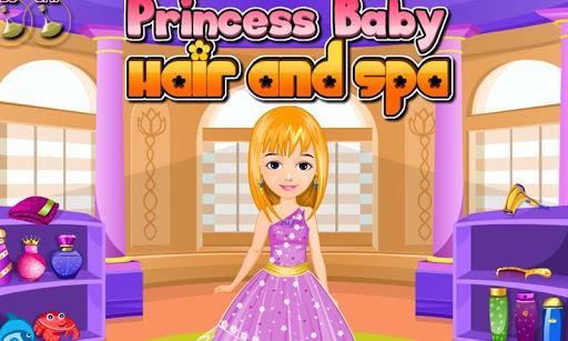 公主嬰兒理髮和水療中心