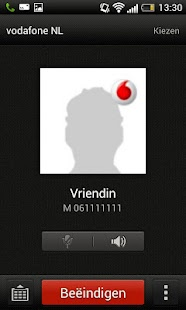 Vodafone Contacten Backup - screenshot thumbnail