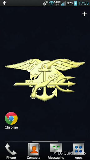 Seal Trident Live Wallpaper