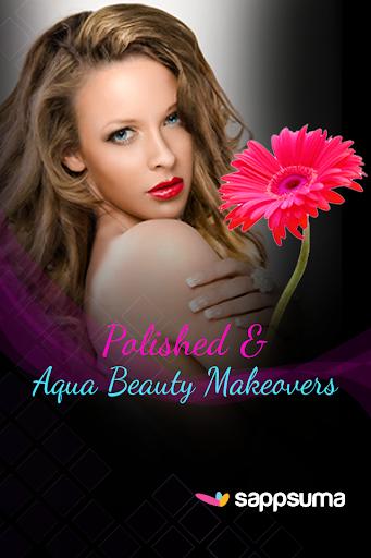 Polished Aqua Beauty Makeovers