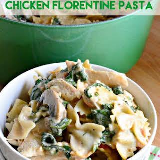 One-Pot Chicken Florentine Pasta.