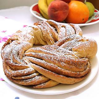 Estonian Bread Kringel.