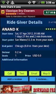 Rideshare4Less - screenshot thumbnail