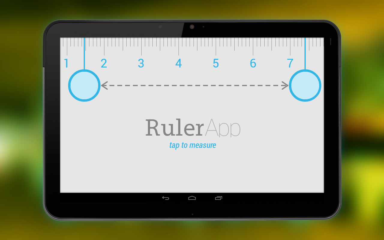 Ruler App - screenshot
