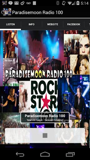 Paradisemoon Radio 100