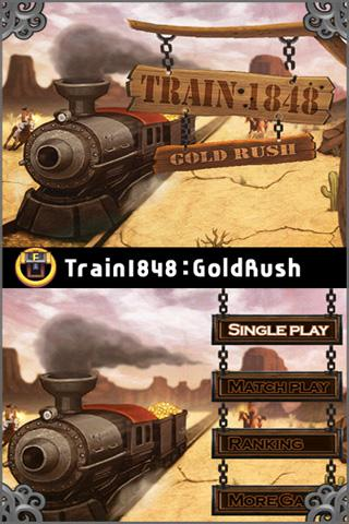 Train1848 Gold rush