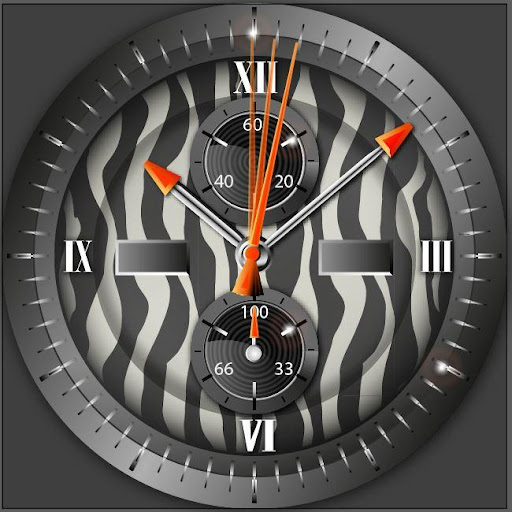 Wildlife Zebra Watchface Wear