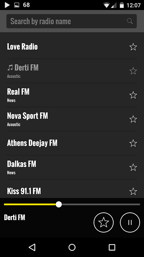 Screenshots of Radio Greece for iPhone