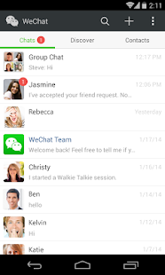 WeChat - screenshot thumbnail