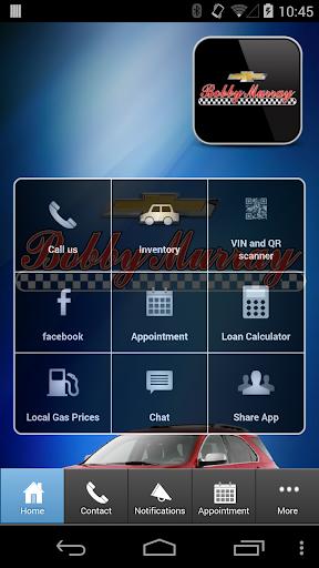 Bobby Murray Chevy mobile app