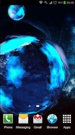 Deep Space 3D Pro lwp Screenshot 2