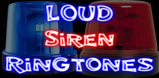 very loud siren ringtone download