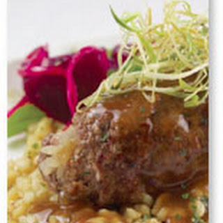 Beef Rouladen with Pan Gravy.