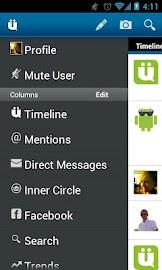 UberSocial for Twitter Screenshot 2