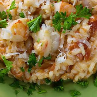 Coconut Shrimp Risotto.