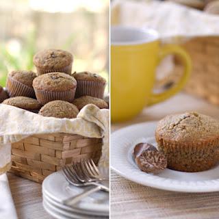 Whole Wheat Pecan & Walnut Nutmeg Muffins