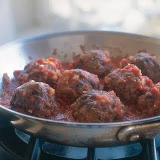 Meatballs in Sugo.
