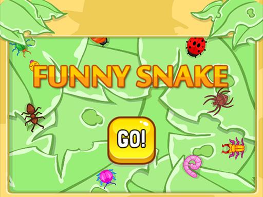 面白いヘビ