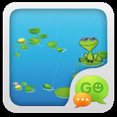 GO SMS Pro Frog Theme