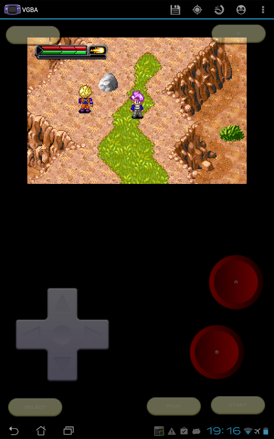 VGBA - GameBoy (GBA) Emulator - screenshot