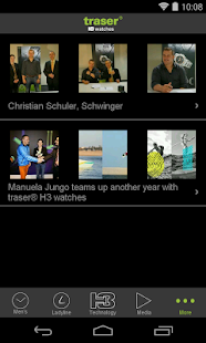 traser® H3 – Swiss made watch- screenshot thumbnail