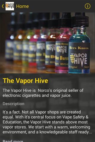 【免費購物App】The Vapor Hive-APP點子