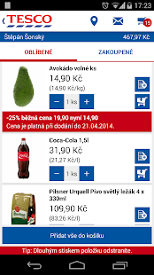 TESCO Potraviny online- screenshot thumbnail