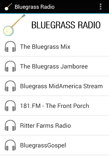 ブルーグラス・ラジオ