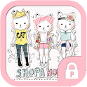 Shoppercat vintage stylish icon