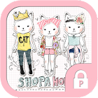 Shoppercat vintage stylish icon