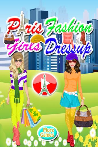 巴黎女孩的愛美女生裝扮遊戲