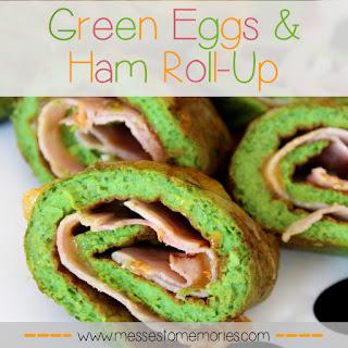 GREEN EGGS & HAM OMELET