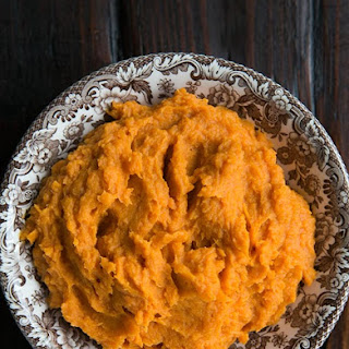 Bourbon Mashed Sweet Potatoes