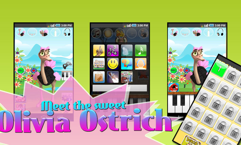 Talking Olivia Ostrich Deluxe- screenshot