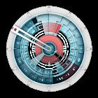 Starship Console Clock Widget icon
