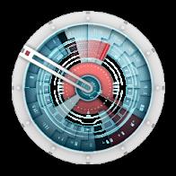 Starship Console Clock Widget