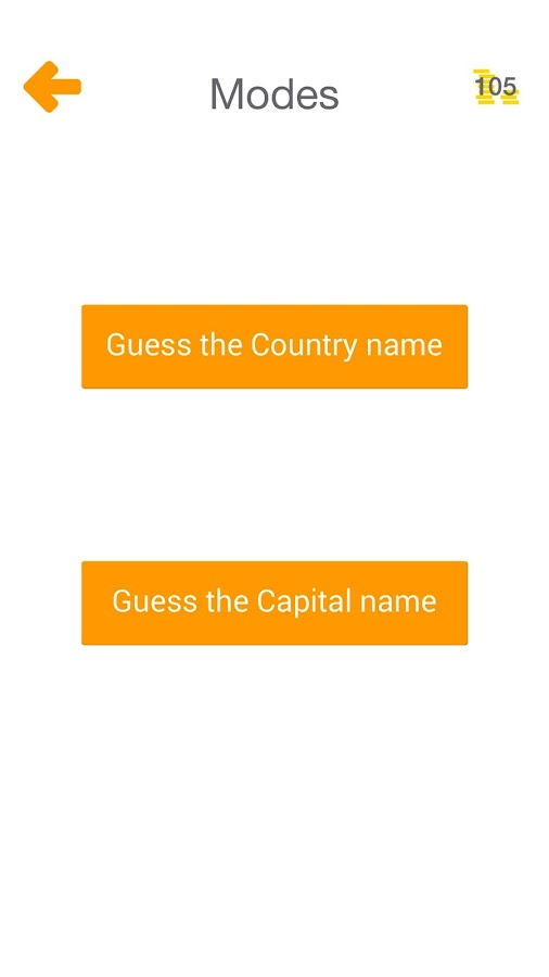 Guess the World Capitals- screenshot