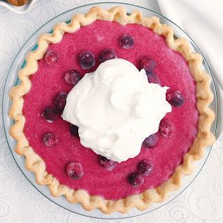 Cranberry Chiffon Pie