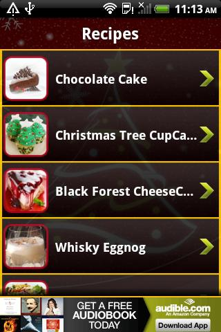 Christmas' Joy Ingredients - screenshot