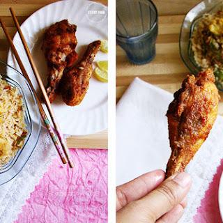 Tandoori Fried Chicken.