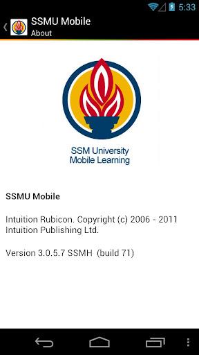 SSMU Mobile Learning